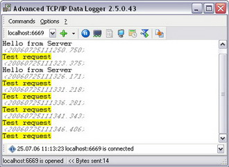 Click to view TCP Logger AX screenshots